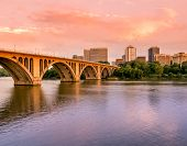 Key Bridge Sunset