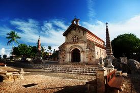 pic of stanislaus church  - village Altos de Chavon - JPG