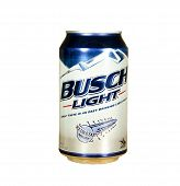 Can Of Busch Light Beer