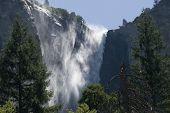 Sentinel Falls At Yosemite
