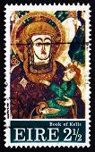 Postage Stamp Ireland 1972 Madona And Child, Christmas