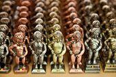 Metallic Replicas Of Manneken Pis Statue In Different Colors