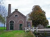 Ancient Sluice With Pumping Station