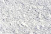 Smooth Field Of Snow Oblique Lit Bij The Sun
