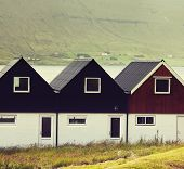 Village on Faroe islands