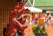 Red Wooden Dragon