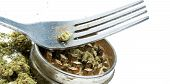 Marijuana and Fork, Eating Edibles