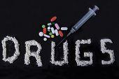 Drug Abuse Concept