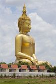 Big Buddha In Angthong Province, Thailand