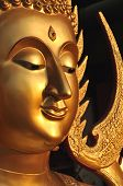 Buda cara latón Aura