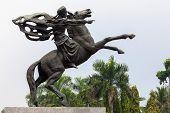 Statue of Prince Diponegoro. Jakarta, Indonesia