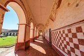 Corridor And Arches