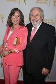 LOS ANGELES - AUG 22:  Jolene Schlatter, George Schlatter at the Television Academy�?�¢??s Produc