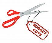 Scissors Cutting Budget Cuts