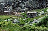 Abandoned Barn In The Rila Mountains