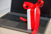 Romantic presents on the table, relationship at work concept