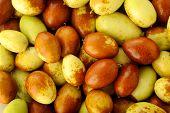 Chinese Jujubes Fruits Background