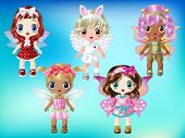 Cute Fairies with Dress up 1