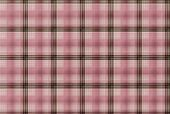 Tartan Pink Pattern - Plaid Clothing Table