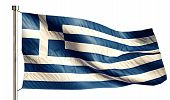 Greece National Flag Isolated 3D White Background