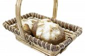 Basket With Sweet Buns