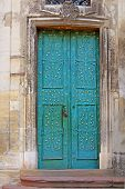 Door Of Dominican Cathedral In Lviv, Ukraine