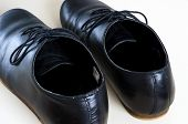 Black Male Leather Shoes