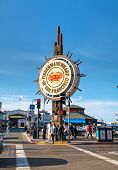 Famous Fisherman's Wharf Of San Francisco