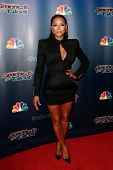 NEW YORK-AUG 20: Singer Mel B attends the backstage post-show red carpet for NBC's 'America's Got Talent' Season 9 at Radio City Music Hall on August 20, 2014 in New York City.