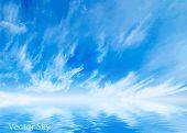 Vector sky