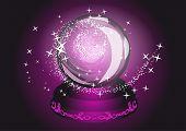 Violet Cristal Ball