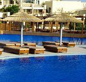Beautiful swimming pool in Egipt
