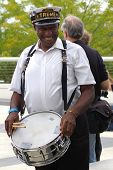 Benny Jones, Sr.of Treme Brass Band performing at The Kennedy Center's Open House, Kennedy Center,