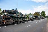 Leopard 2 Tanks in Warsaw
