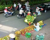Banana Street Vendor