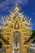 White Buddha. Wat Rong Khun, Chiang Rai Thailand
