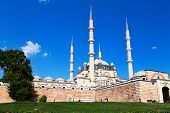 Site Of The Selimiye Mosque, Built By Mimar Sinan In 1575