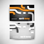 eps10 vector set futuristic business background