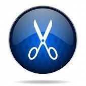scissors internet icon