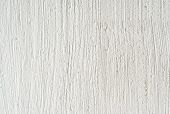 White Plastered Wall Background Horizontal Orient