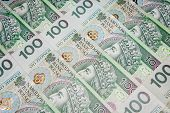 stock photo of zloty  - Poland currency zloty  - JPG