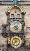 old astronomical clock, Prague, Czech Republic, Europe