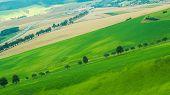 Hill in a beautiful landscape