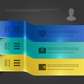Creative Vector Infographics Template. Banners Chart Diagram.