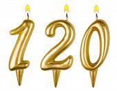 Candles Number One Hundred Twenty