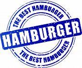 Hamburger Stamp Icon