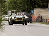 old car Aston Martin DB 3 S 1953 mille miglia 2014