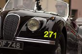 OLD CAR Jaguar  mille miglia 2014