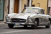 OLD CAR Mercedes-Benz 300 SL W 198 1955 mille miglia 2014