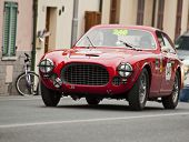 OLB CAR Ferrari225 S berlinetta Vignale 1952 MILLE MIGLIA 2014